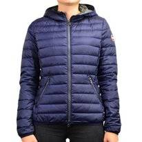 Winterjacke Colmar 2224 Glossy Light Down Fixed Hood Navy Damen