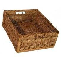 Wicker Basket Butler Large