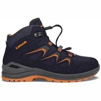 Wanderschuh Lowa Innox Evo GTX QC Navy Orange Kinder