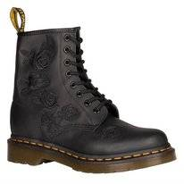 Dr. Martens Women 1460 Vonda Mono Black Softy T