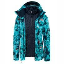 Jacket The North Face Women Garner Triclimate 3 in 1 Transantartic Blue Snow