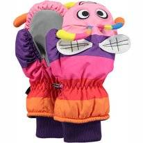 Want Barts Kids Nylon Mitts 3D Purple