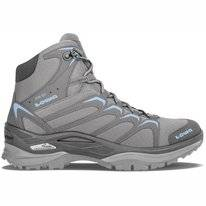 Wanderschuh Lowa Innox GTX Mid Grey Light Blue Damen