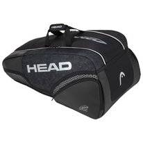 Tennistas HEAD Djokovic 9R Supercombi Black White 2020