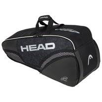 Tennistas HEAD Djokovic 6R Combi Black White 2020