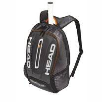 Tennisrugzak HEAD Tour Team Backpack Black Silver 2019
