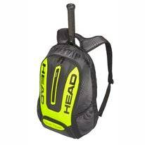 Tennisrugzak HEAD Tour Team Extreme Backpack Black Neon Yellow