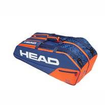Tennistasche HEAD Core 6R Combi Blue Orange