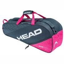 Tennistas HEAD Elite 6R Combi Anthracite Pink