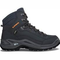 Wandelschoen Lowa Men Renegade GTX Mid Navy Orange