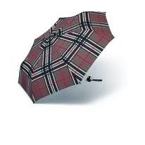 Regenschirm Happy Rain Alu Light Checks Brown