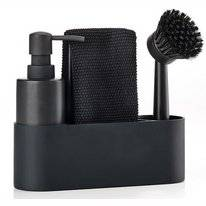 Sink Caddy Zone Denmark Singles Black (4 pc)