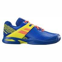 Tennisschoen Babolat Junior Propulse Clay Blue Fluo Aero