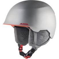 Skihelm Alpina Junior Maroi Silver Flamingo Matt