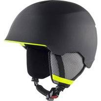 Skihelm Alpina Junior Maroi Charcoal Neon Matt