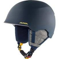 Skihelm Alpina Junior Maroi Ink Grey Matt