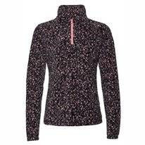 Skipullover Protest Fuzzy 1/4 Zip Think Pink Damen