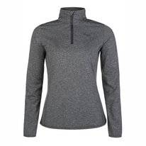 Skipullover Protest Fabrizom 1/4 Zip Top Dark Grey Melee Damen