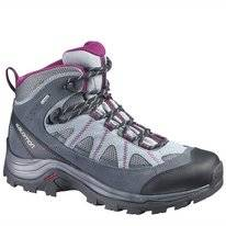 Wanderschuh Salomon Authentic LTR GTX W Pearl Grey Mystic Damen