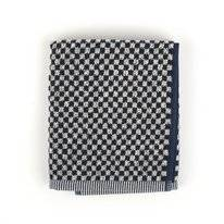 Keukendoek Bunzlau Castle Small Check Dark Blauw