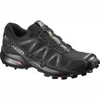 Trail Running Shoes Salomon Speedcross 4 Women Black Black Metal