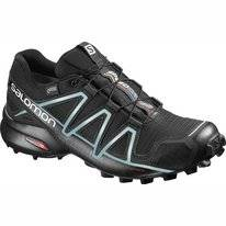 Trail Running Shoes Salomon Speedcross 4 GTX Women Black Metallic