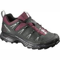 Wanderschuh Salomon X Ultra LTR W Bordeaux Asphalt Steel Grey Damen