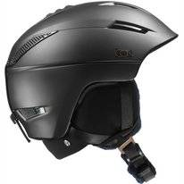 Skihelm Salomon Icon2 C. Air Black Damen