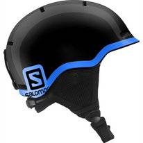 Skihelm Salomon Grom Black Kids
