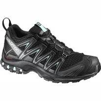 Trail Running Shoes Salomon XA Pro 3D Women Black Magnet