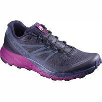 Trail Running Shoes Salomon Sense Ride Women Blue Crown Blue