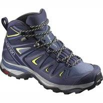 Wandelschoen Salomon X Ultra 3 Mid GTX Women Crown Blue Evening Blue
