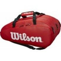 Tennistas Wilson Tour 3 Compartment Red