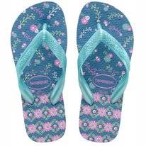 Tongs Havaianas Kids Flores Blue
