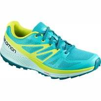 Trail Running Shoes Salomon Women Sense Escape Bluebird Eggshell