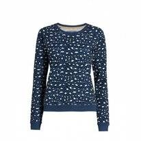 Sweater Essenza Celine Animal  Blue