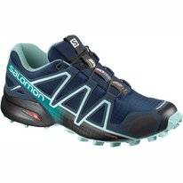 Trail Running Shoes Salomon Women Speedcross 4 Poseidon Eggshell