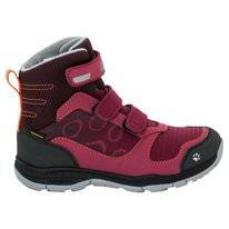 Wanderschuh Jack Wolfskin Girls Grivla Texapore VC High Dark Ruby Kinder