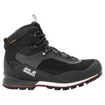 Wandelschoen Jack Wolfskin Men Wilderness Lite Texapore Mid Black Red