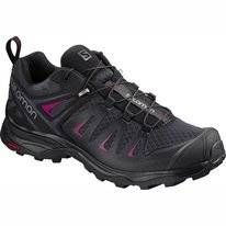 Trailrunningschuh Salomon X Ultra 3 Graphite Black Citronelle Damen