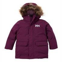 Jas Helly Hansen Kids Oslo Parka Purple Potion