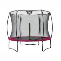 Trampoline EXIT Toys Silhouette 305 Pink Safetynet
