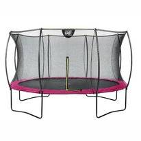 Trampoline EXIT Toys Silhouette 366 Pink Safetynet