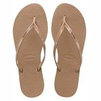 Slipper Havaianas You Metallic Rose Gold