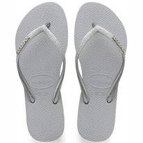 Tongs Havaianas Kids Slim Shiny Ice Grey
