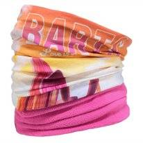 Scarf Barts Unisex Multicol Polar Retro Ski Yellow