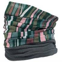 Scarf Barts Unisex Multicol Polar Retro Stripes Camo Green