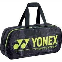 Tennistas Yonex Pro Tournament Bag 92031WE Black Yellow