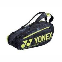 Tennistas Yonex  Pro Racket Bag 92026 Black Yellow