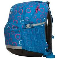 Rugzak Bergans Kids 2Go Lite Sea Blue Hearts